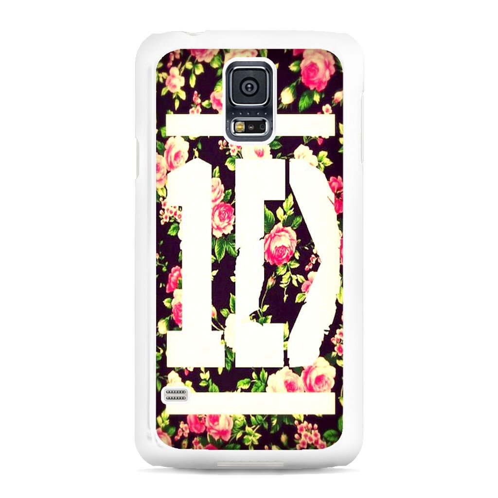 1D Logo Flower Samsung Galaxy S5 Case