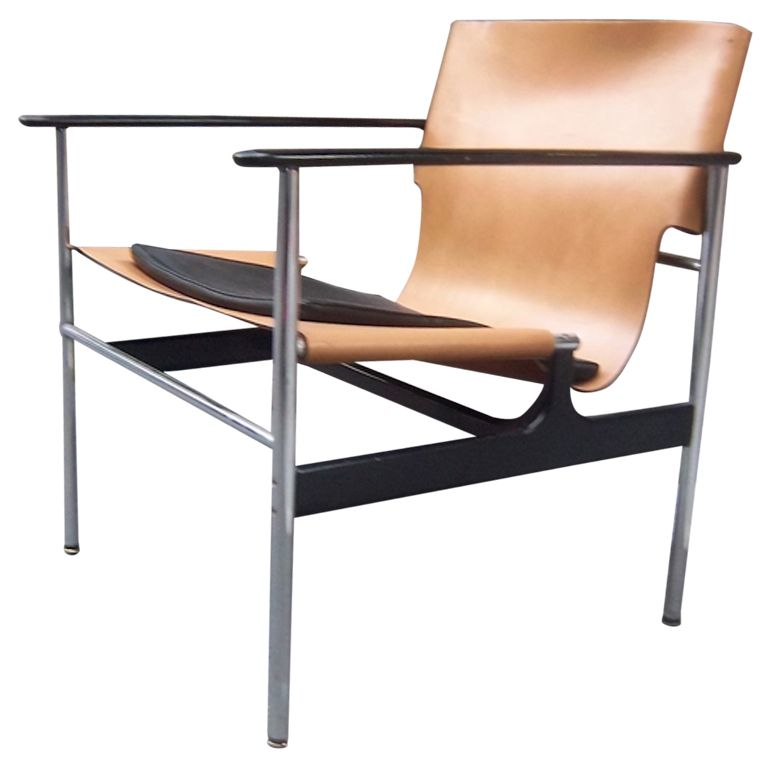 A Mid Century Club Chair by Charles Pollack for Knoll ...