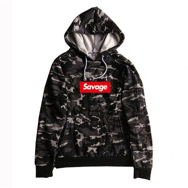 b1555895f21 Savage Street Wear Supreme Hoodie