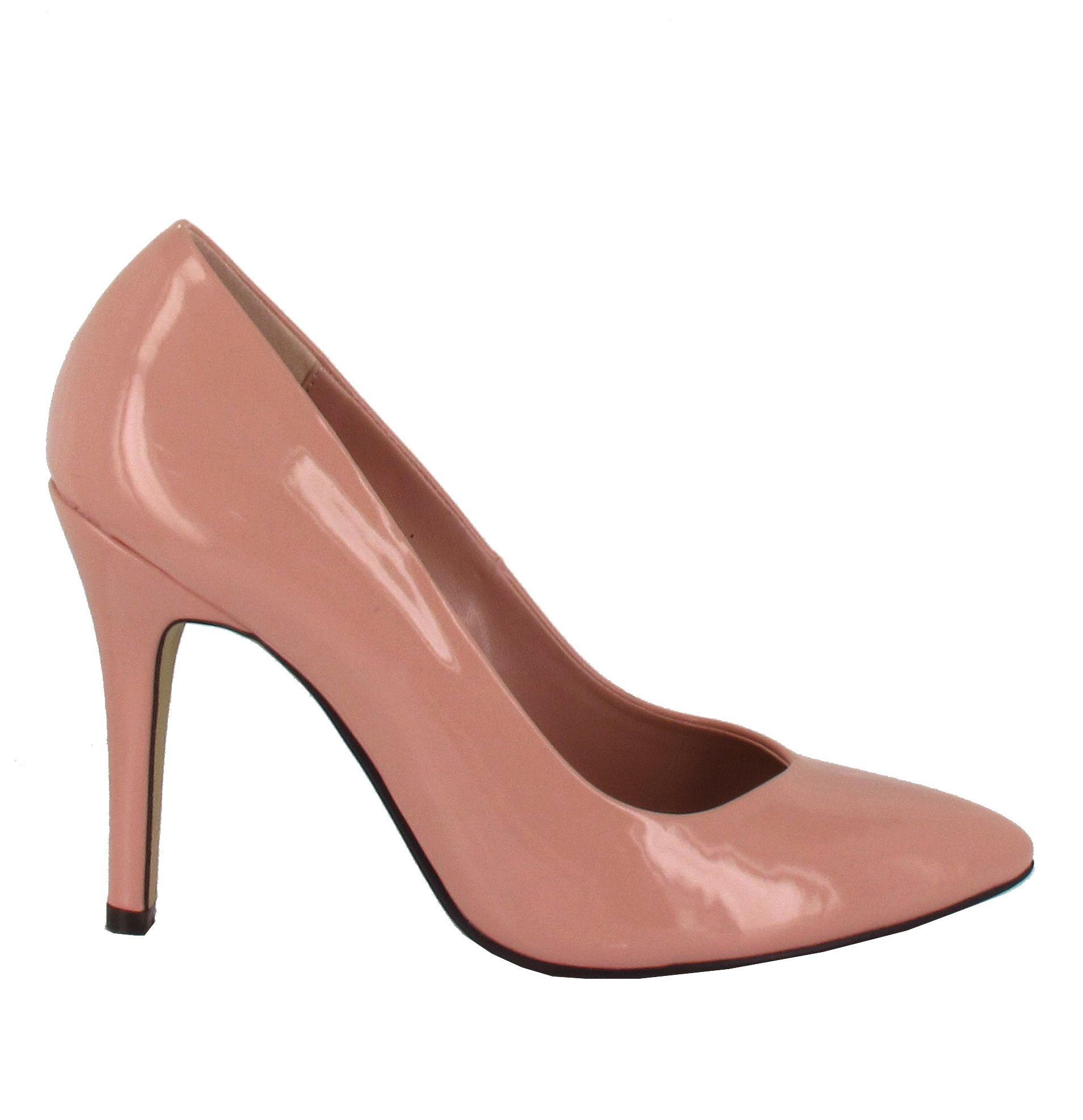 Zapato de tacón alto con punta fina, en tono Rosa. Modelo básico, no puede faltar en tu armario. Ref.6027 //High heel pointed toe shoe in Pink colour. A basic model, indispensable for your wardrobe. Ref.6027