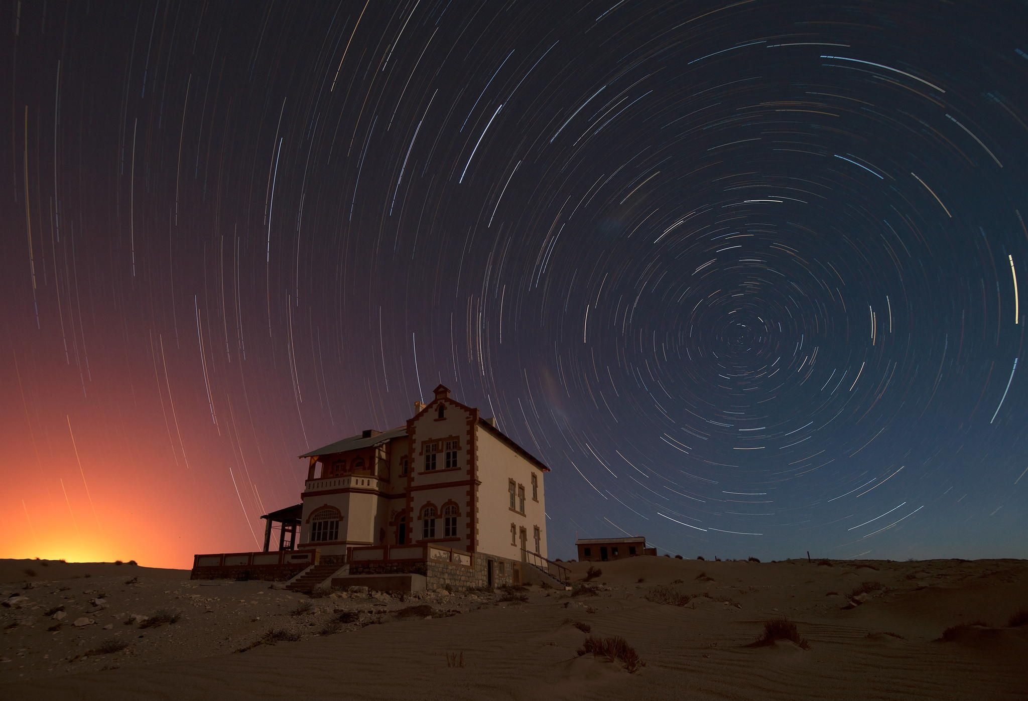 Kolmanskop Stars by Emil von Maltitz on 500px