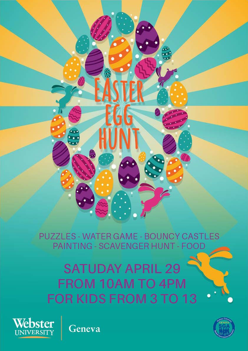 WEBSTER UNIVERSITY EASTER EGG HUNT, 29 April 2017 | Events