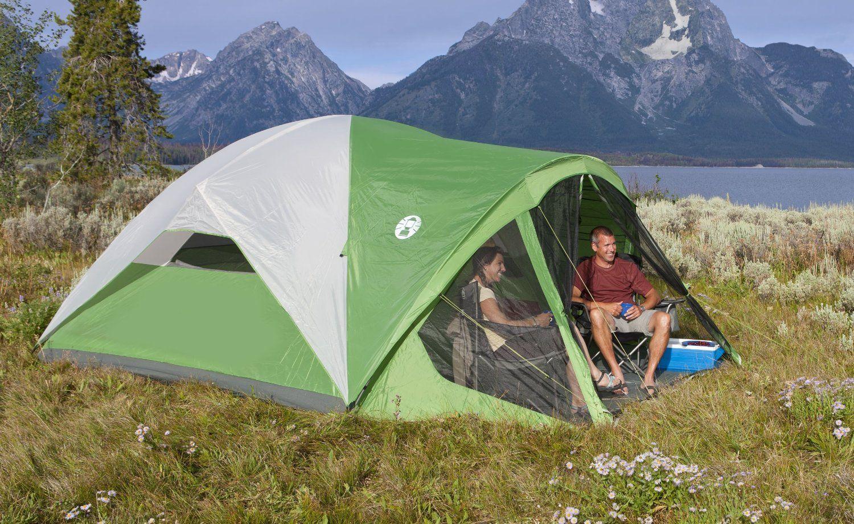 Coleman Evanston 6 Screened Tent & Coleman Evanston 6 Screened Tent | CAMPING TENTS | Pinterest ...