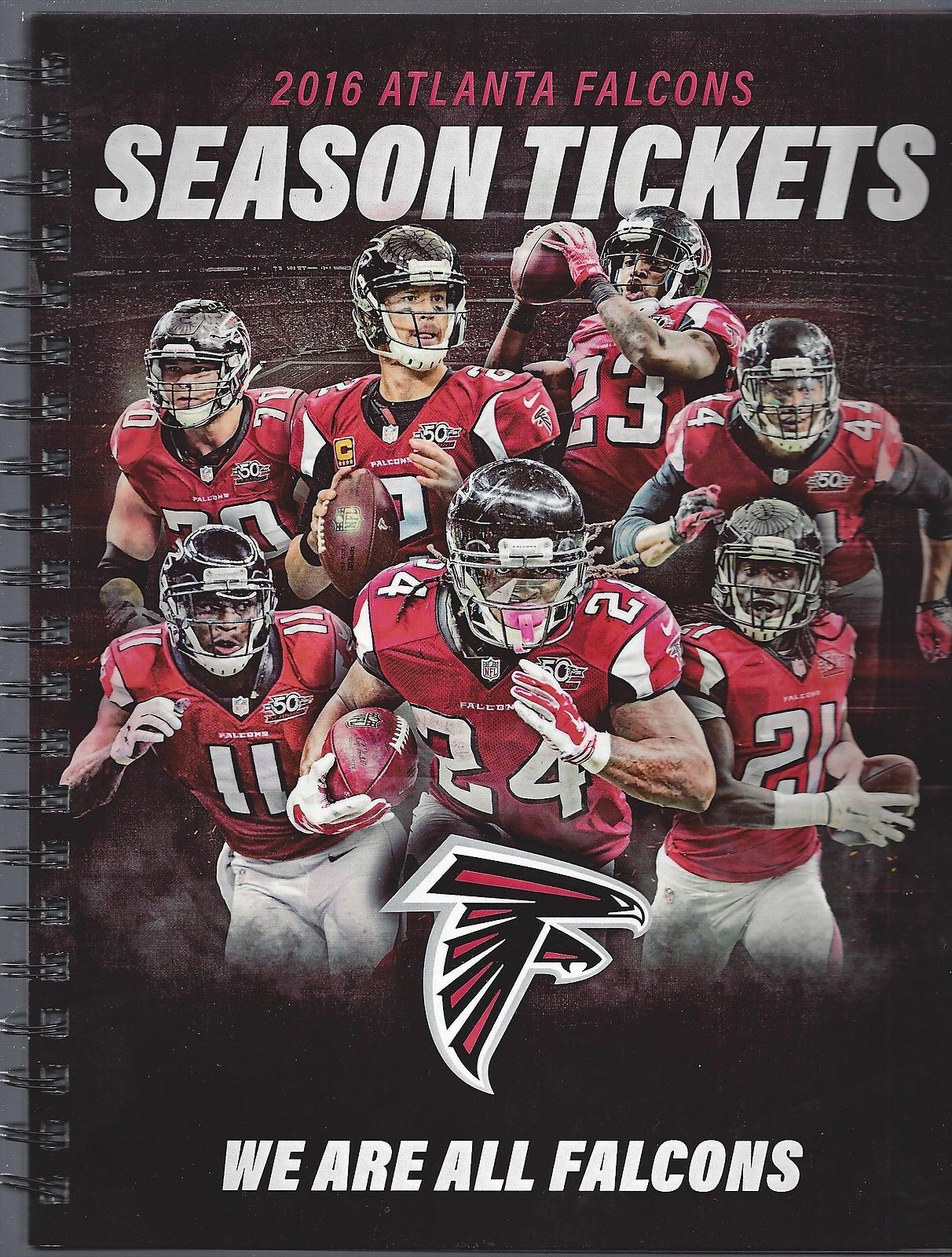 2016 Nfl Atlanta Falcons Full Unused Football Ticket Book Super Bowl 51 Li Atlanta Falcons Football Atlanta Falcons Atlanta Falcons Pictures