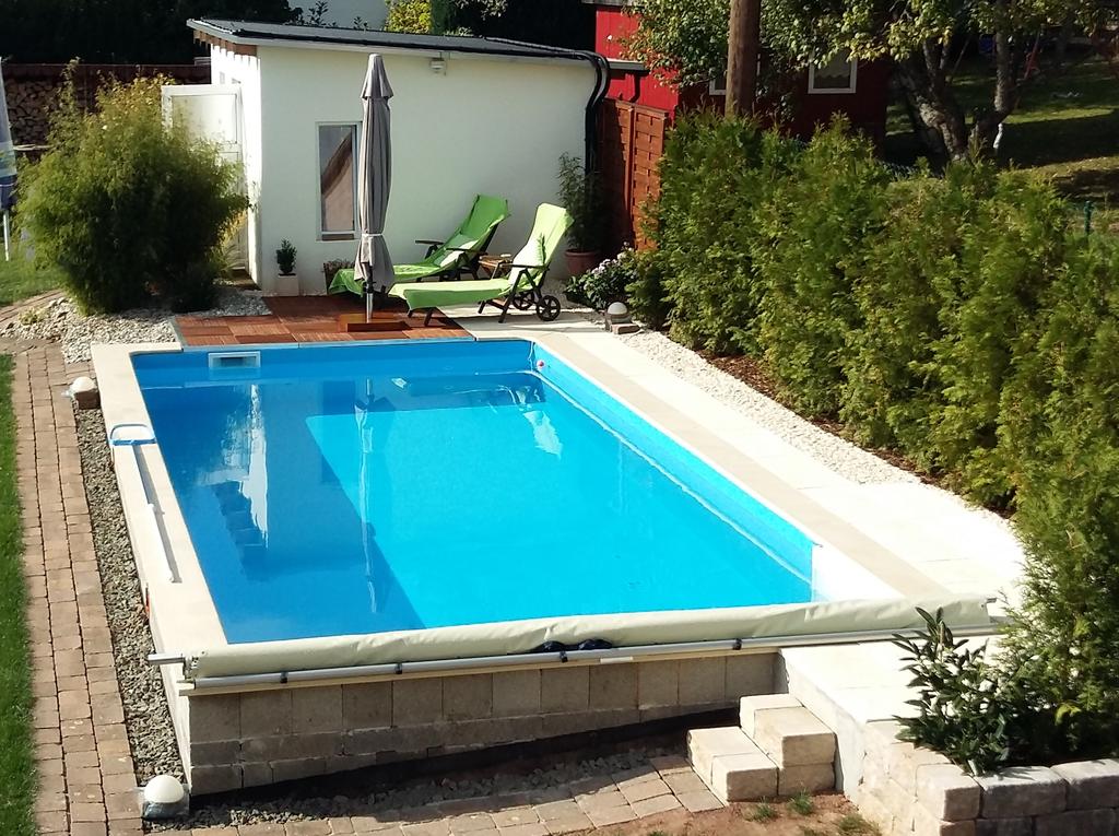 Pool Selbstbau: Referenzen und Fotos