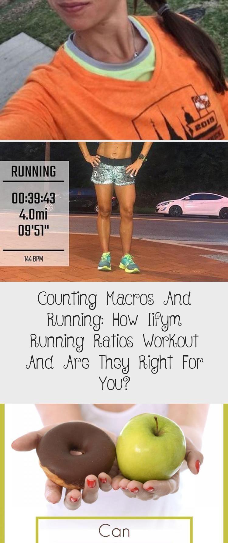IIFYM Running meal plan example - learn more about macronutrient ratio for marathon training #iifym...