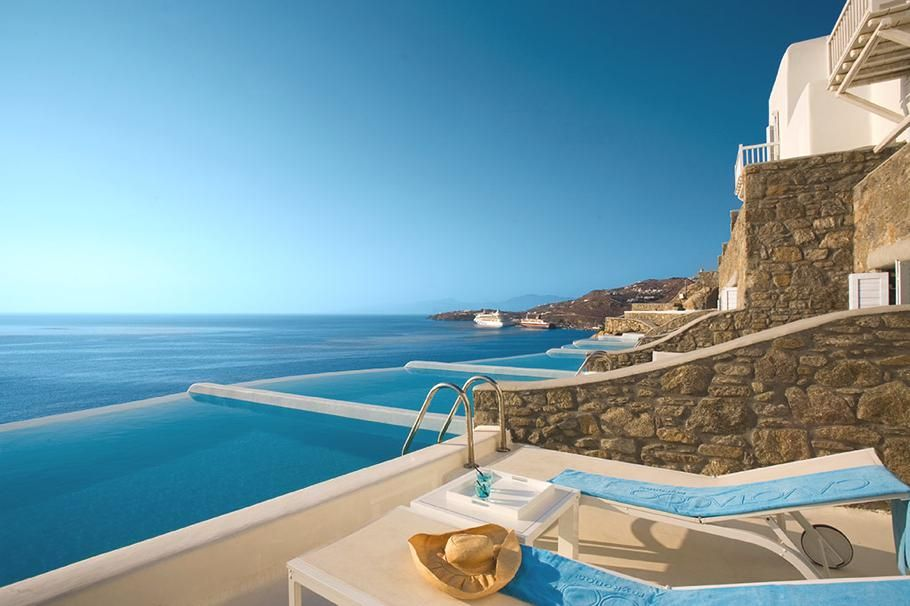 Hotel Cavo Tagoo Mykonos Greece The Five Star Captivates Travelers Pinned With