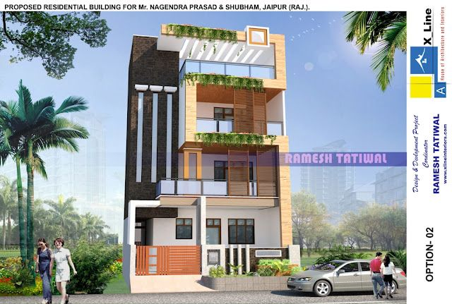 Recently received a Modern Contemporary home 3D Exterior View from xlineinteriors .