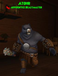 Companion:Atohr (Apprentice Beastmaster) Class: Buccaneer
