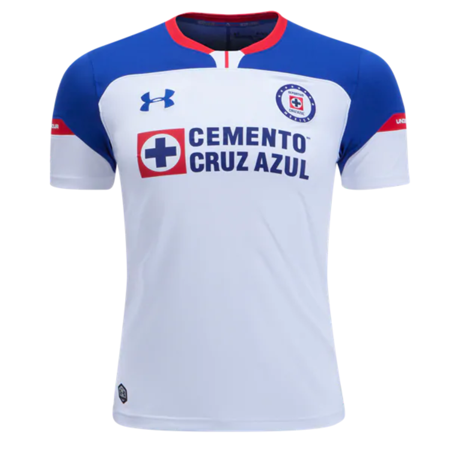 a0dab939628 Cruz Azul 18 19 Away Men Soccer Jersey Personalized Name and Number ...