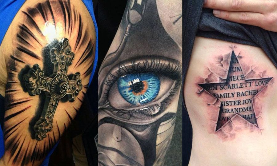 17 Best images about Best 3D Tattoos In The World on Pinterest ...