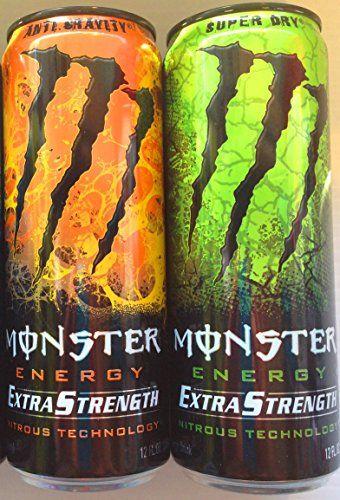 Monster Energy Extra Strength Nitrous Technology Variety 9 Pack Anti Gravity Super Dry Monster Energy Monster Energy Drink Energy