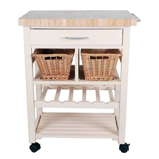 Henley Cream Butcher S Block From Cargo Kitchen Trolleykitchen