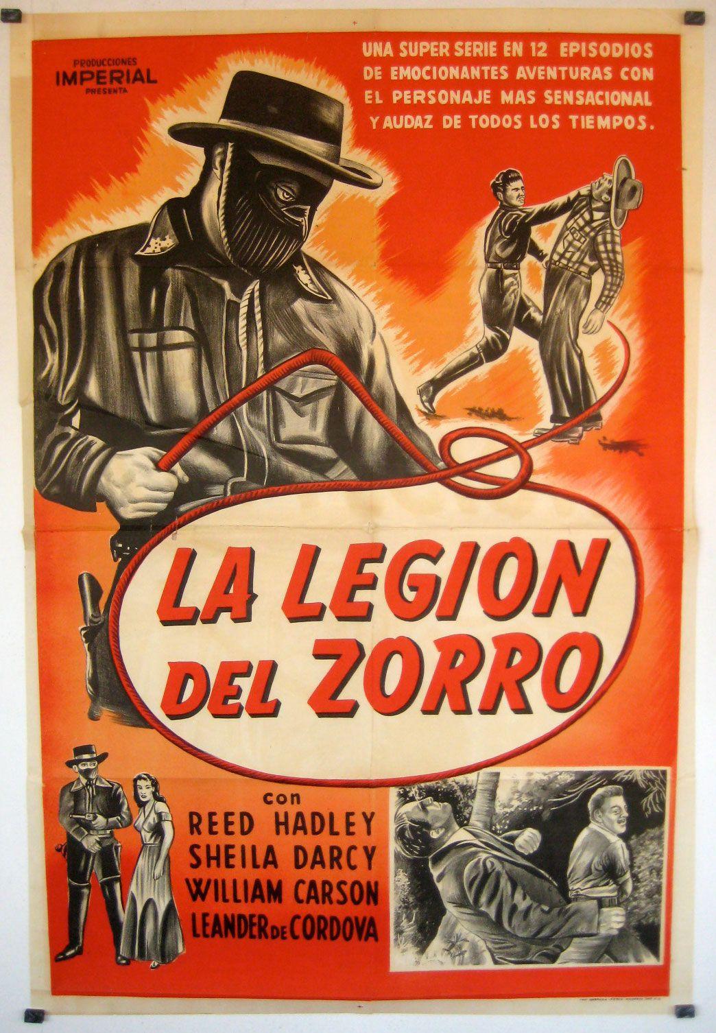 Zorros Fighting Legion 1939 Zorro