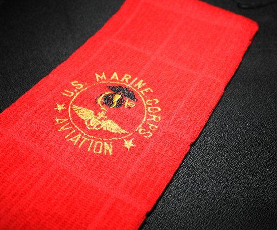 Marine Corps Aviation kitchen hand towel by SkidzWifeCreations, $5.00