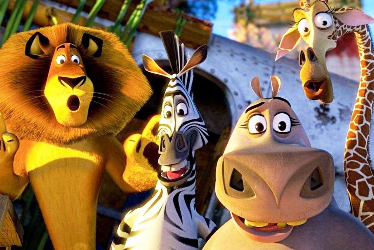 Animation movie Disney cartoon movie Madagascar 3