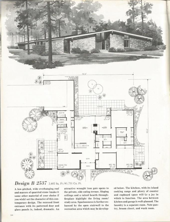 Vintage House Plans Distinctive Mid Century Contemporary Mid Century Modern House Plans Modern House Plans Modern Floor Plans