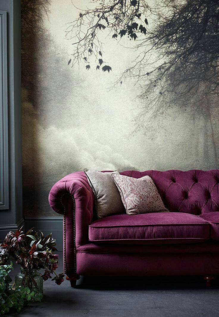 Interior, Wall Paper, Tile, Lighting, Table Floor Lamp, Pendant Ceiling Light, Wall Decor, Furniture, Sofa, Chair, Fabric