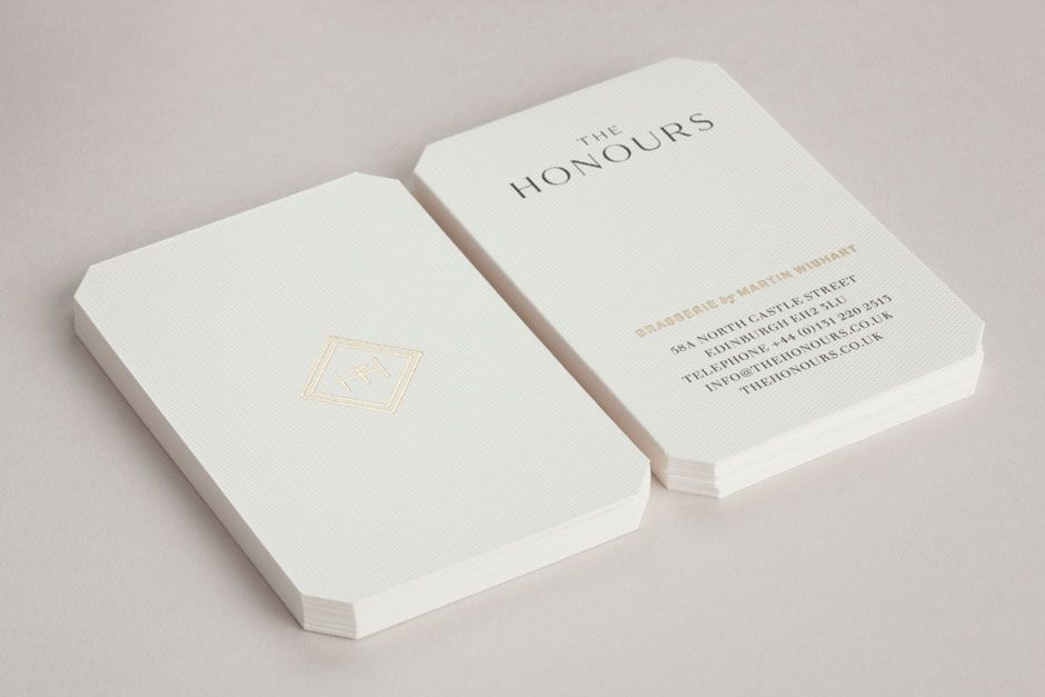 The Honours Touch Business Card Design Business Card Inspiration Business Card Design Creative