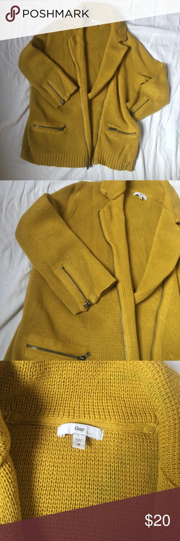 🌻SALE🌻Sweater Jacket | Yellow sweater, Mustard yellow and Mustard