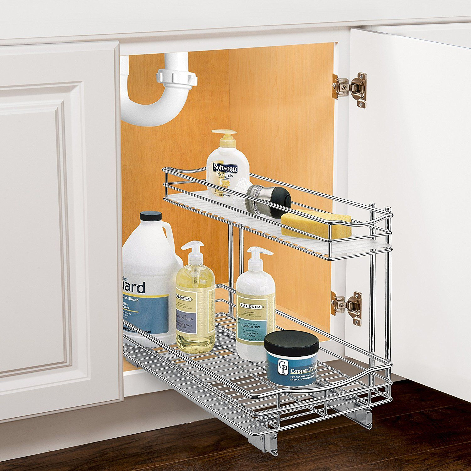 Best Amazon Com Lynk Professional Roll Out Under Sink Cabinet 400 x 300