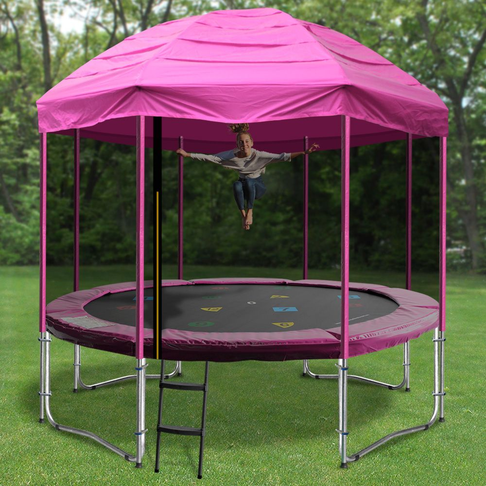 Tr&oline circus tents these are a great addition to your tr&oline. If you need a tent for your tr&oline this is a great way to start. & For all your Cubby Houses Visit https://www.froggiestrampolines ...