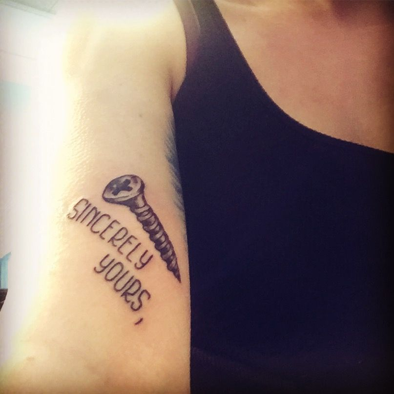 b8aa64271 My newest addition, a tattoo in tribute of my favorite film  #TheBreakfastClub.