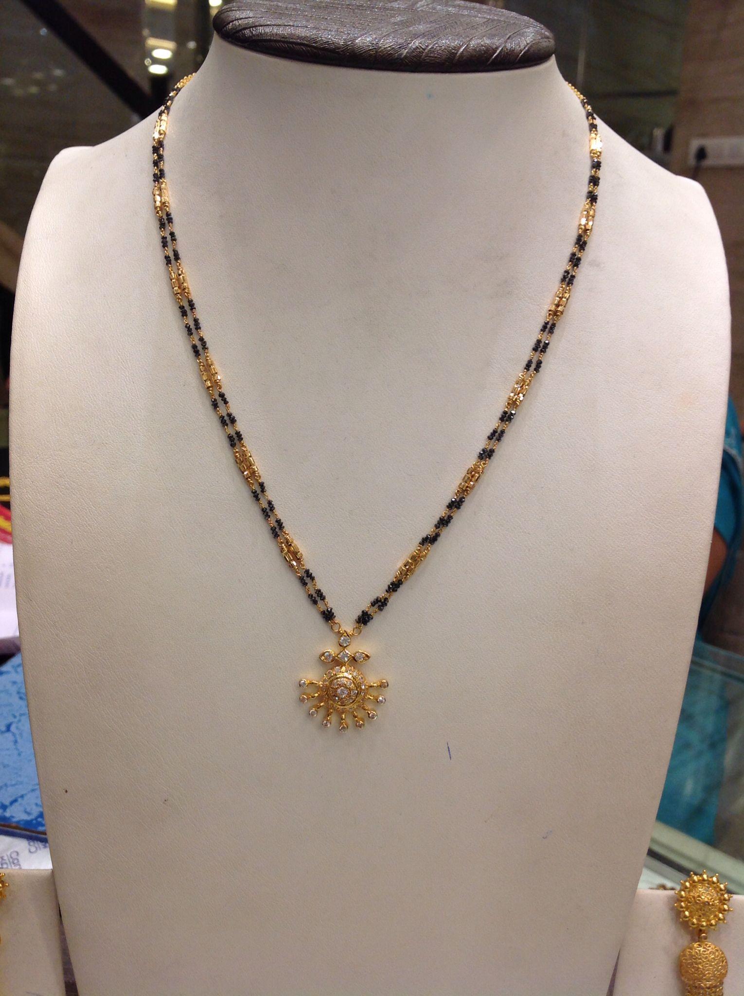 And contemporary gold jhumkas collection by khazana jewellery - Blackbeeds 12 Gms Gold Jewelleryjewellery Designsdiamond