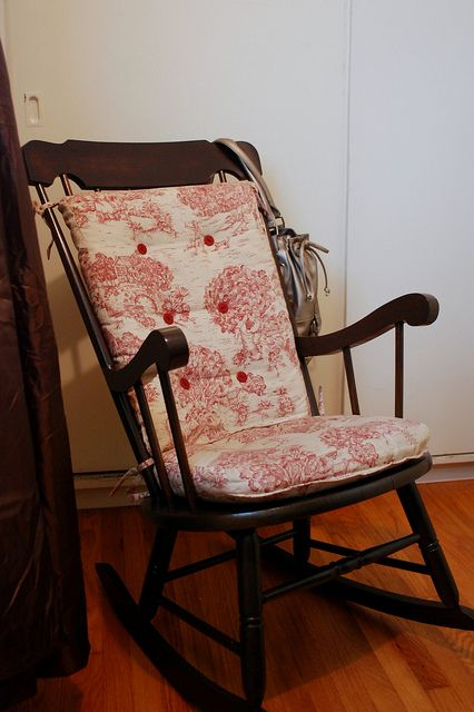 Refinishing An Old Rocking Chair This Marvelous Life Old Rocking Chairs Rocking Chair Rocking Chair Cushions