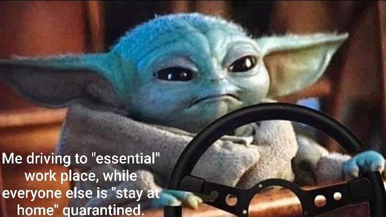 Essential Work Anger Yoda Meme Funny Relatable Memes Funny Memes