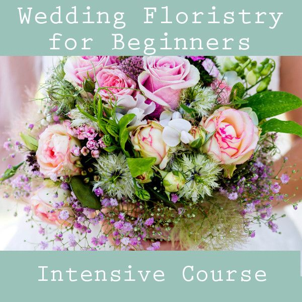 Wedding Flowers Cambridge: Wedding Floristry Beginners