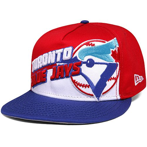 new concept 21125 852a3 Toronto Blue Jays Angle Slash 9FIFTY A-Frame Snapback Adjustable Cap by New  Era - MLB.com Shop