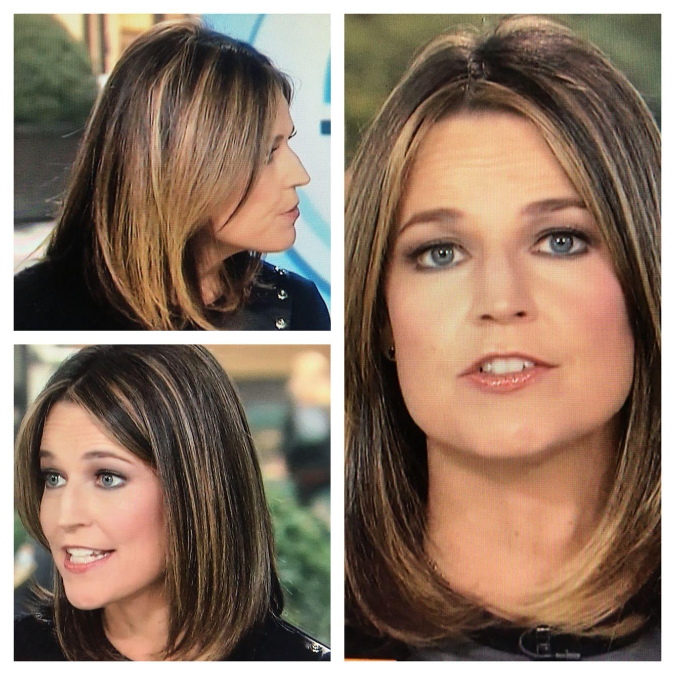 Savannah Guthrie Hair 1215 Hair In 2018 Pinterest Hair Hair