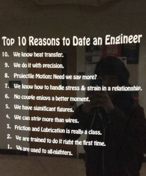 Dating a civil engineer