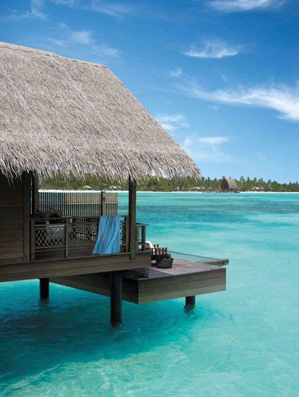 Shangri-La's Villingili Resort and Spa in the southern most atoll of the Maldives.