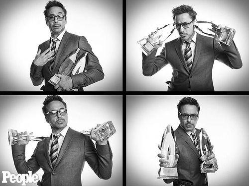 Robert Downey Jr. and his 2013 Peoples' Choice Awards