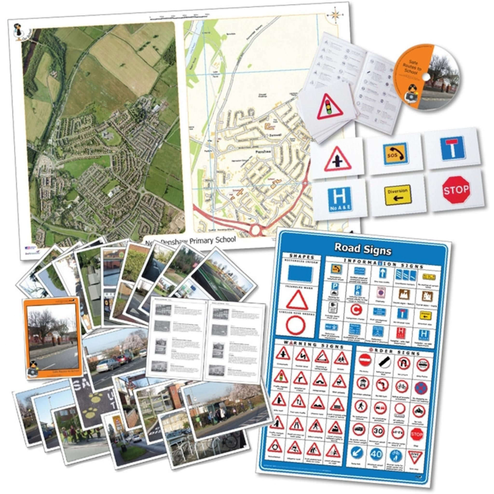 School Road Safety Pack Teaching resources primary, Road