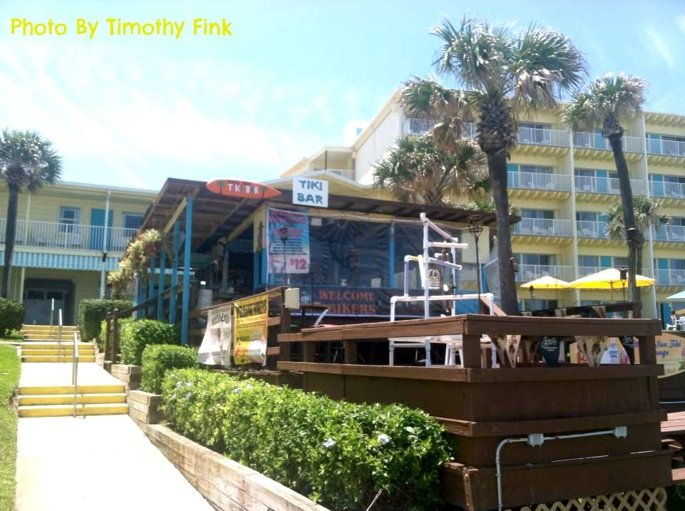 Tiki Bar Perrys Ocean Edge Resort Daytona Beach Ss Restaurants