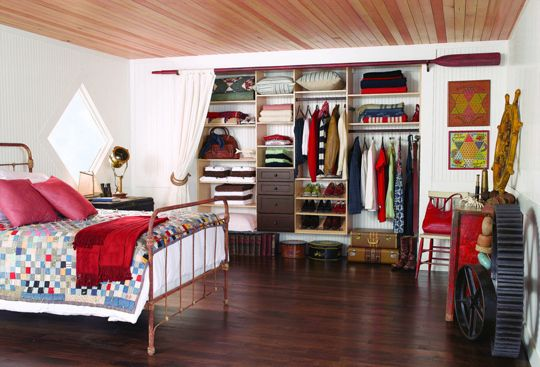 closet partitions and shelves
