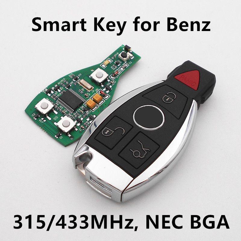 Car smart key 31 buttons 315mhz 433mhz for mercedes benz