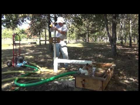 Drill Your Own Well Series Mud Pump Portable Mud Pit Water Well Drilling Water Well Diy Water