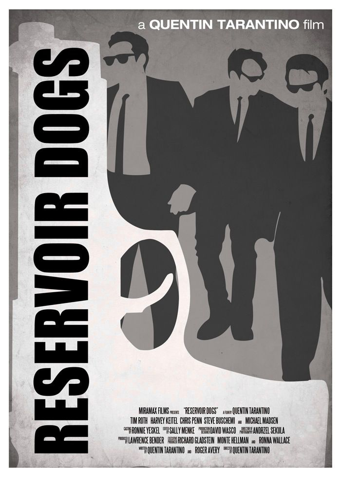 (Yet Another) Reservoir Dogs Poster