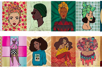 Representation Matters And Artist Jacqui C Smith Is Here For It La Weekly In 2020 Black Artists Character Design Vibrant Colors