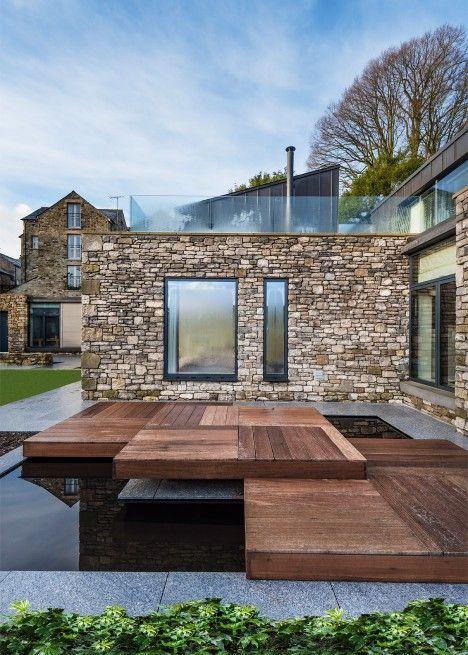Casas De Piedra Modernas