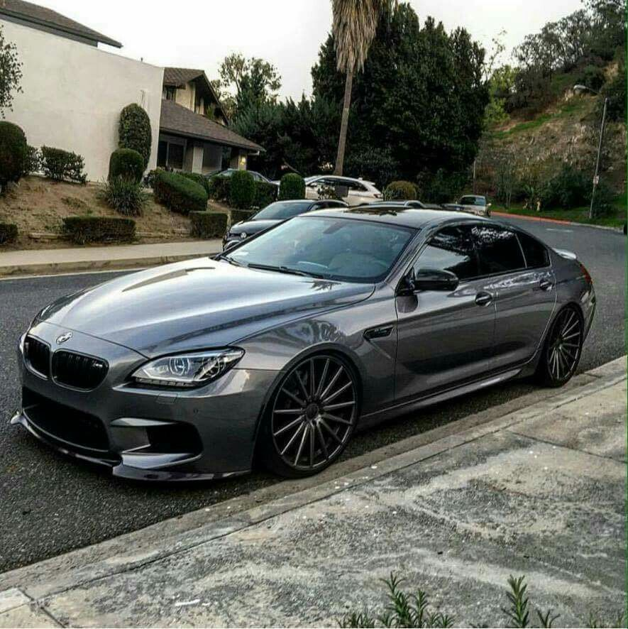 Bmw F06 M6 Gran Coupe Grey With Images Bmw M6