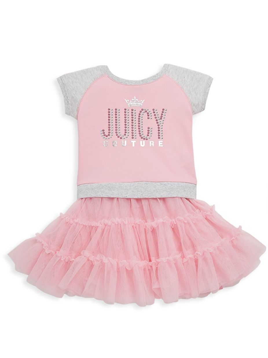 Juicy Couture Little Girl s Logo Tee  fdcfecd78a