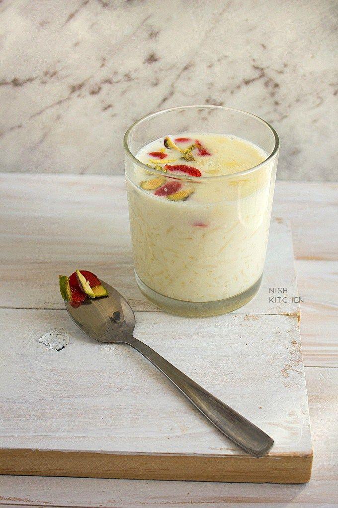 Paal Payasam  South Indian Rice Pudding Video   Nish ...