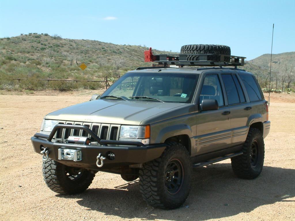 Custom 1997 Green Jeep Zj Jeep Zj Jeep Grand Cherokee Zj Jeep Sport