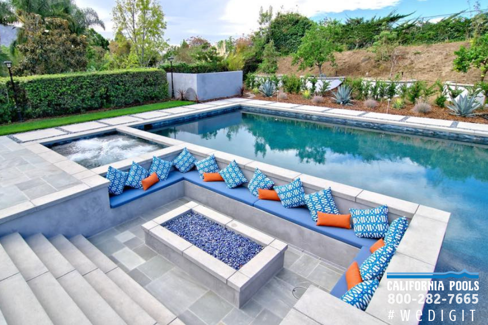 Pin By California Pools On Landscape Remodel Swimming Pools Backyard Backyard Pool Swimming Pool Builder