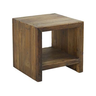 Déco en Vogue -  La collection ASCONA propose du mobilier en pin recyclé, aux lignes simples et agréables.